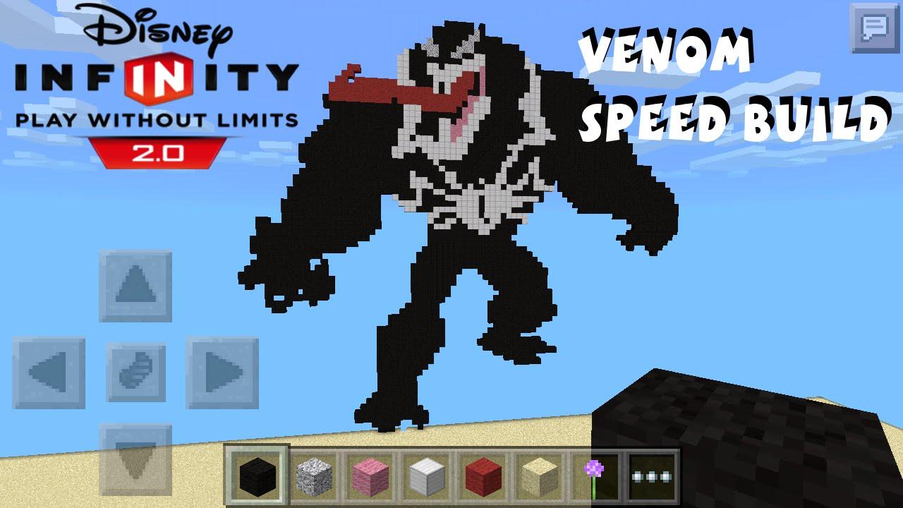 Venom Disney Infinity 2.0 Marvel Super Heroes Pixel Art ...