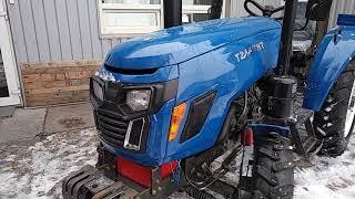 Трактор T 244 THT успей купить по выгодной цене  Ч 2