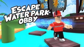 Secret exit (Escape the waterpark roblox)