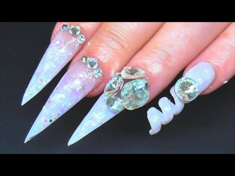 how to make fake nails out of straw
