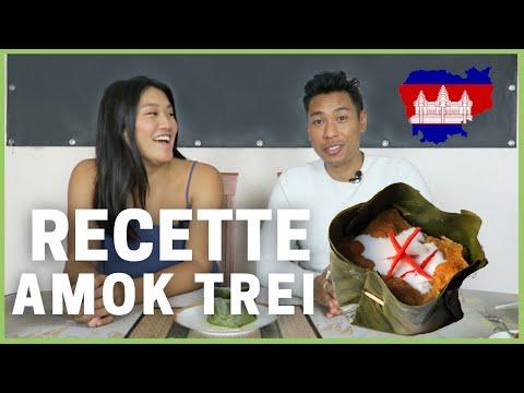 recette-du-amok-de-poisson-អាម៉ុកត្រី-🇰🇭-avec-dara---kroeung,-cuisine-khmère,-feuille-de-bananier..