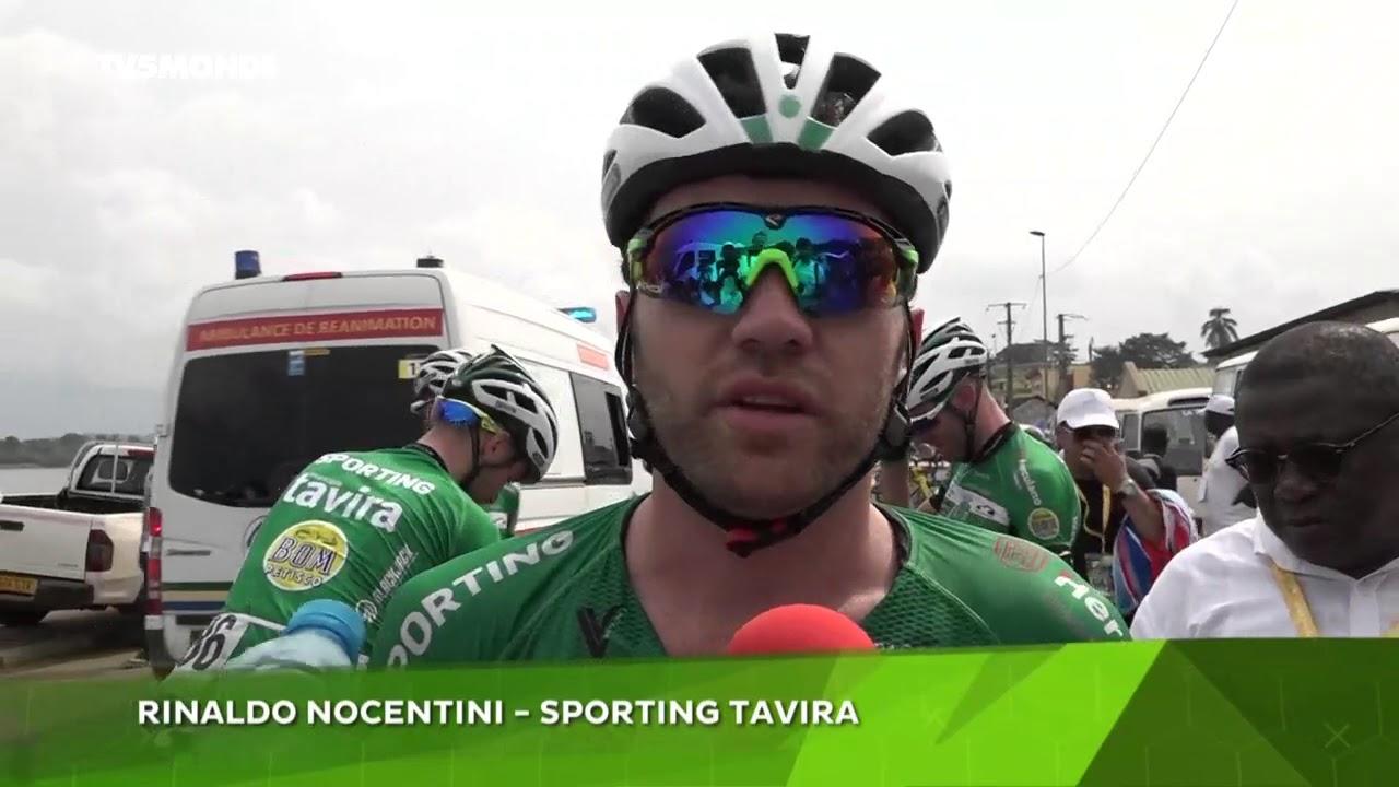 Cyclisme / Tour du Gabon 2018 - 3ème étape : NOCENTINI prend la tête