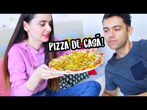 FACEM PIZZA ACASA! Mai Gustos decât la Pizzerie