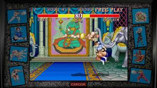 Street Fighter 2: Champion Edition 1992 - Chun Li vs Dhalsim - Longplay Gameplay No Commentary