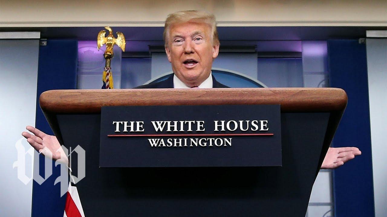 WATCH: Trump and the White House coronavirus task force speak to reporters - 4/13 (FULL LIVE STREAM)