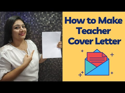HOW TO MAKE A TEACHER COVER LETTER | TEACHERPRENEUR