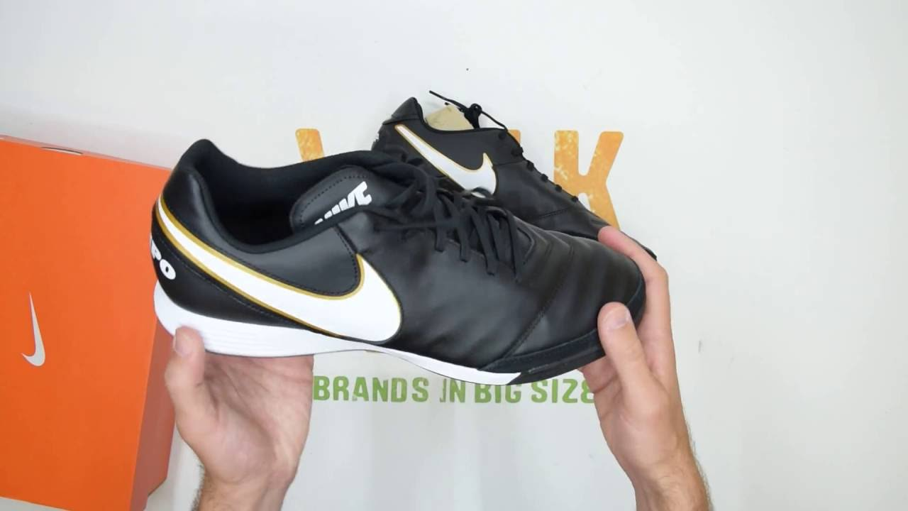 newest 24571 4f88d Nike Tiempo Genio Leather II (TF) - Walktall   Unboxing   Hands on
