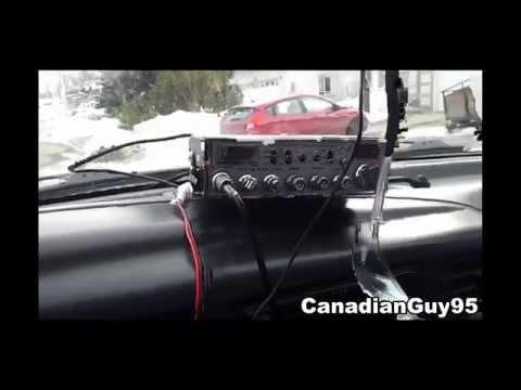 Cobra 29 WX NW Sound Tracker Installation