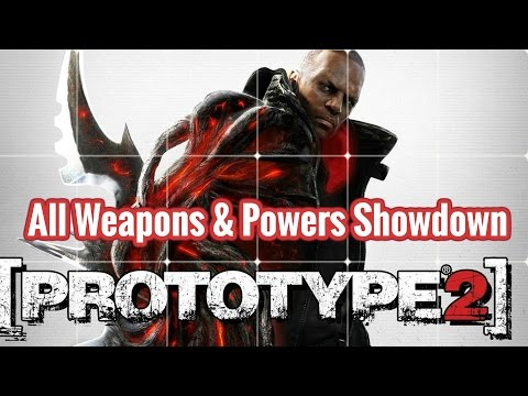 Prototype 2 :  All Weapons & Powers Showdown