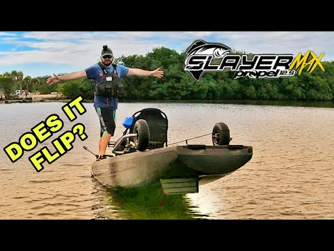 Crazy STABILITY Test Native Watercraft Slayer Propel MAX 12.5 Does It FLIP?