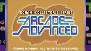 Game | CGR Undertow KONAMI COLLECTOR S SERIES ARCADE ADVANCED review for Game Boy Advance | CGR Undertow KONAMI COLLECTOR S SERIES ARCADE ADVANCED review for Game Boy Advance