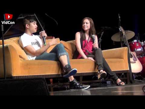 Shira Lazar Interviews Andrew Huang at Vidcon 2011