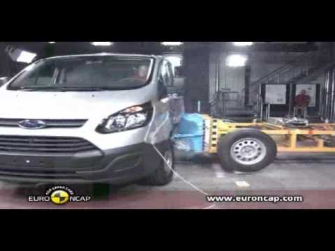 ANCAP CRASH TEST: Ford Transit Custom (March 2014 - onwards)