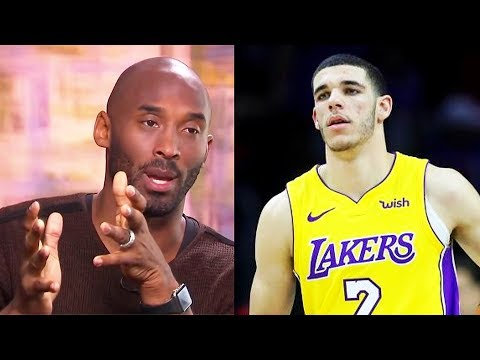 "Kobe Bryant Tells Lonzo Ball ""GET BETTER NOW!!!"""