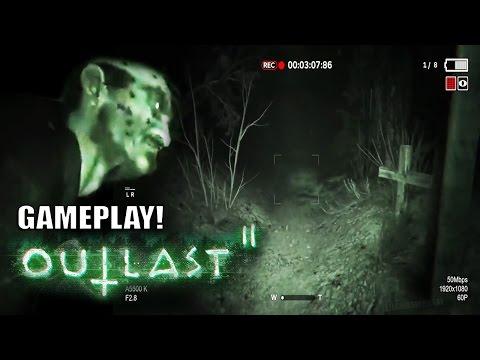 """OUTLAST 2 Gameplay Oficial - """"ALERTA TERROR EXTREMO"""" - Vídeo reacción Demo Oficial!"""