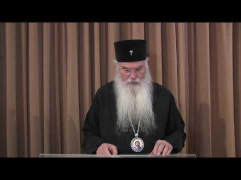 Metropolitan Nikolaos of Mesogaia - TRANSHUMANISM VS THEOSIS