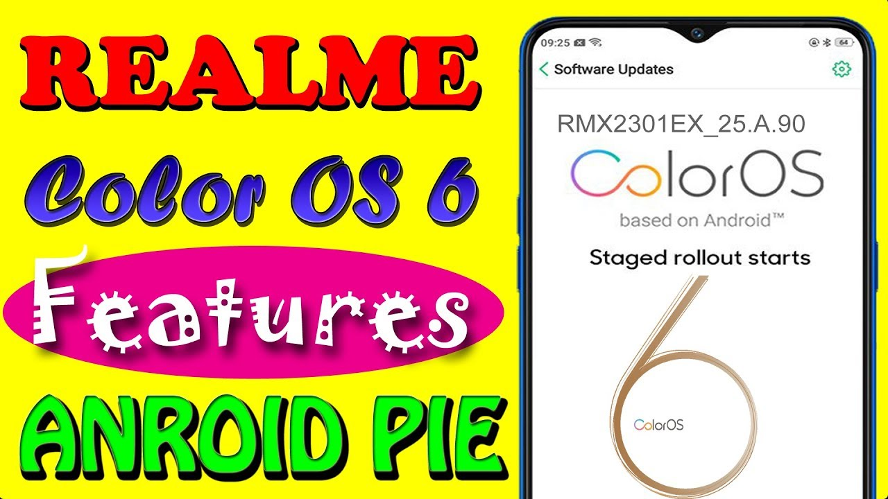 Oppo Realme ColorOS 6 features | Realme color os 6 0 update features