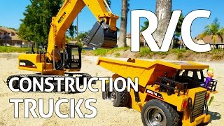 RC Construction Trucks!