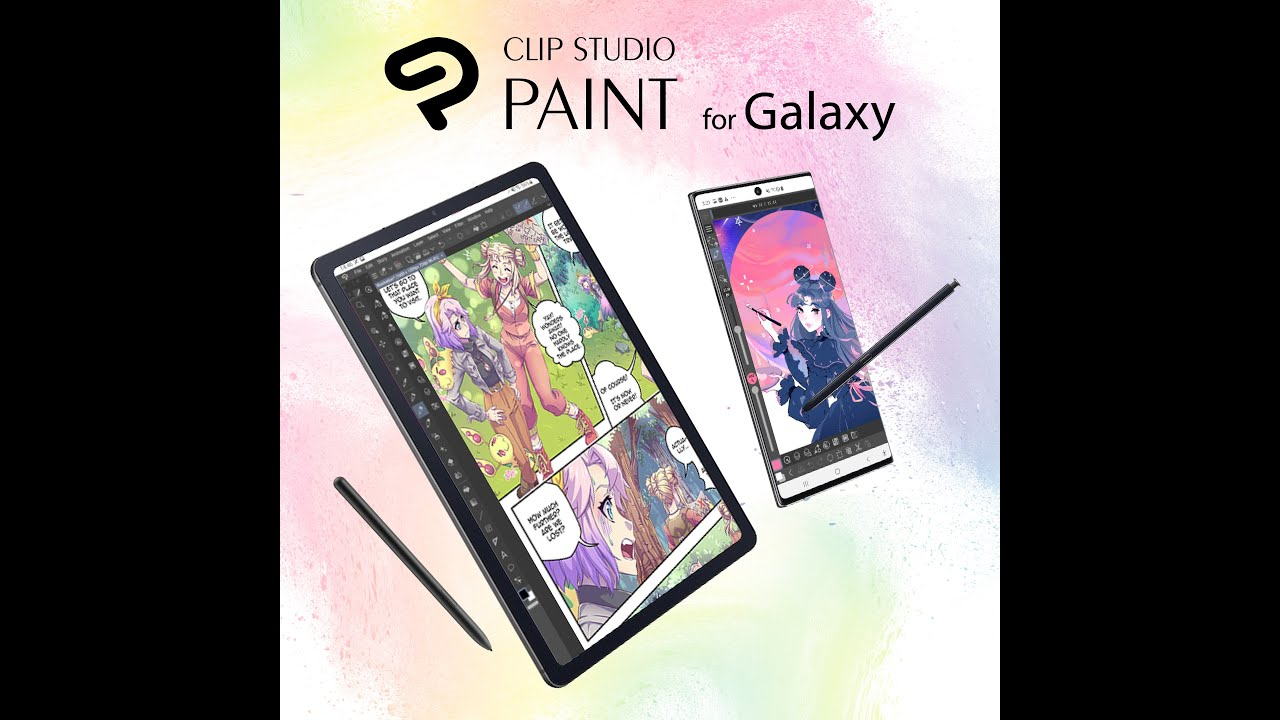 6ヶ月無料・Galaxyユーザー限定】CLIP STUDIO PAINT for Galaxy提供 ...