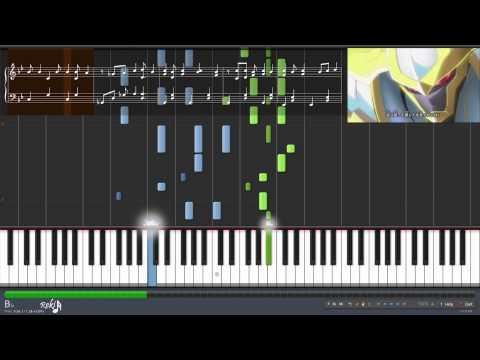 【TV】Yu-Gi-Oh! ZEXAL Opening 2 - BRAVING! (Piano)
