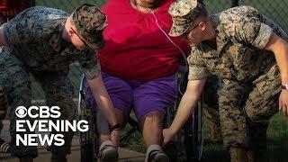 Marines rescue senior citizens from Washington fire