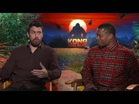 Kong Skull Island Interview - Toby Kebbell & Jason Mitchell fragman