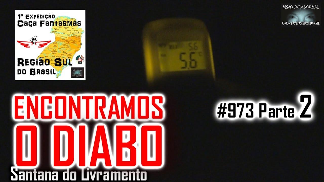 ENCONTRAMOS O DIABO - Caça Fantasmas Brasil - #973 Parte 2