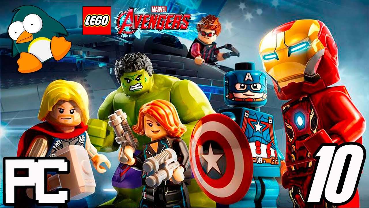 LEGO OS VINGADORES em Português - Jogos dos Super Heróis Marvel #10 PC