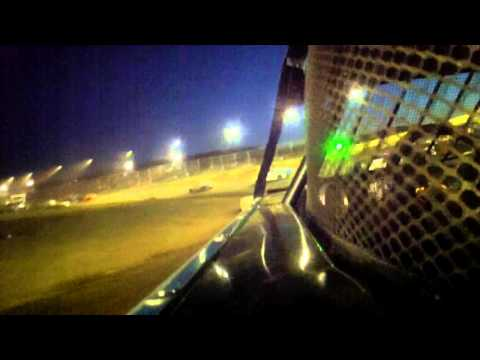 4.16.16---Peoria Speedway----Street Stock Feature---DNF in car