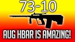 73-10 | AUG HBAR - OMG! This Gun Is So GOOD! - Roblox: Phantom Forces