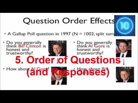 Top 10 Reasons Not to Trust Public Opinion Polls