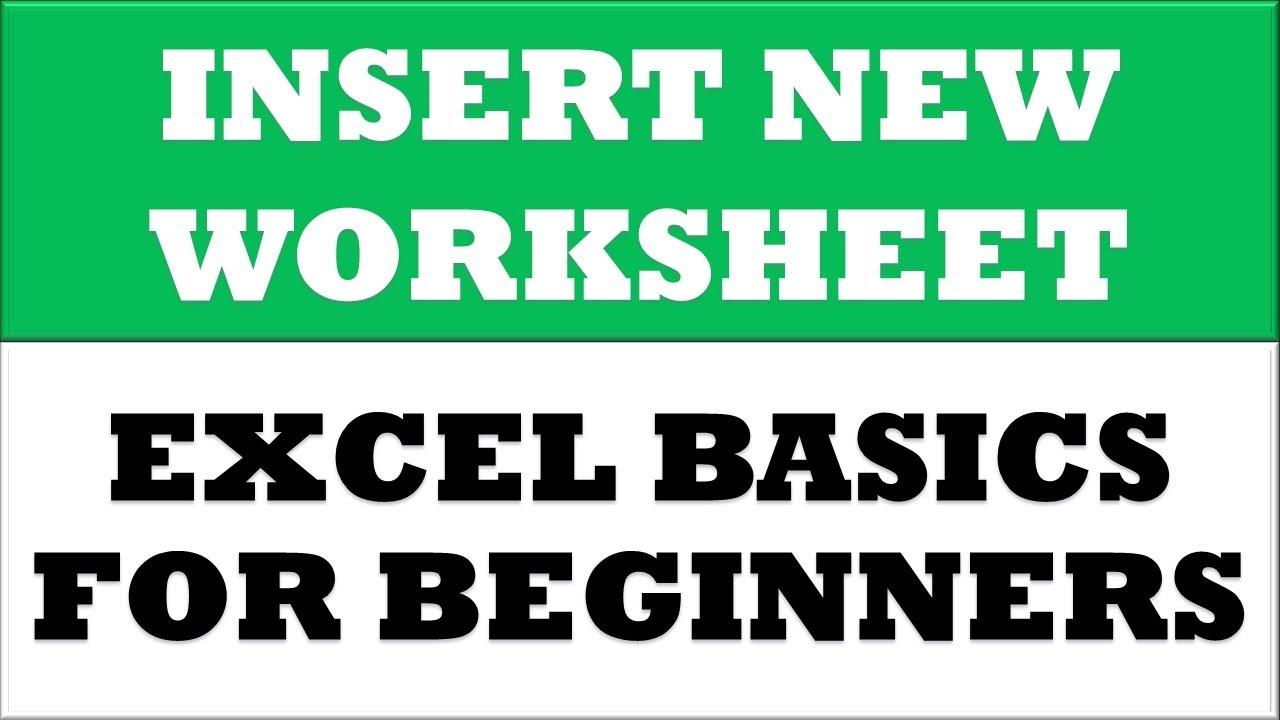 Free Worksheet Insert New Worksheet In Excel how to insert new worksheet in microsoft excel 2016 youtube 2016