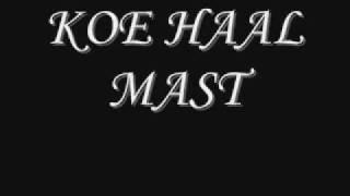 KOE HAAL MAST
