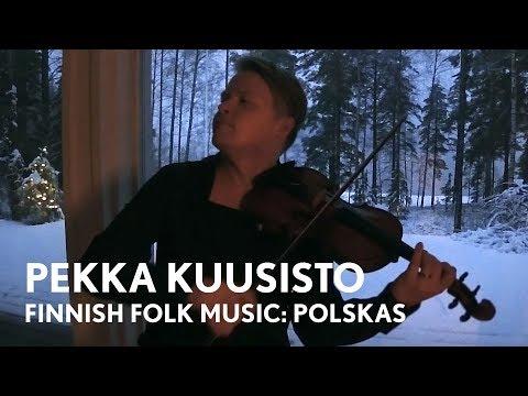 Finnish Folk Music - Pekka Kuusisto Home Video - mid December 2017