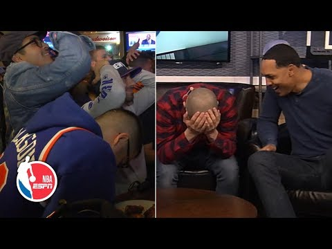 Knicks And NBA Fans React To Losing Out On Zion Williamson | NBA On ESPN