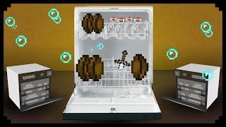Minecraft - Bulaşık Makinesi Nasıl Yapılır ?