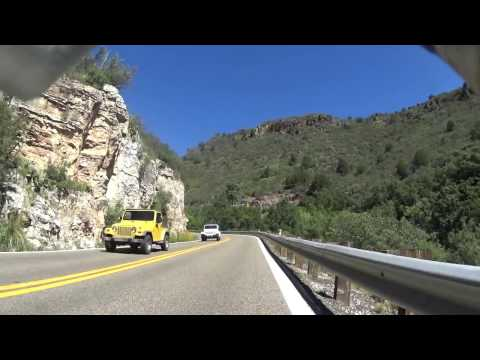 09 03 16 Video 02 Ascent of Mingus Mountain in Arizona