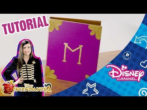 Descendants 2 | Craft Tutorial | Mal's Spell Book | Disney Arabia