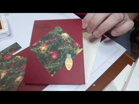 November Online class featuring Making Christmas Bright stamp set week 2