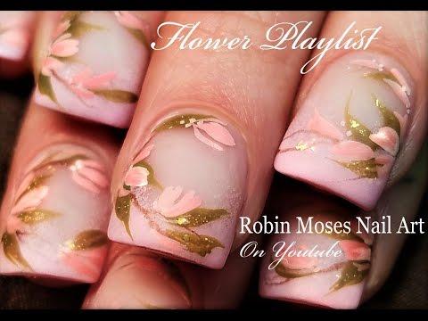 Diy blush pink matte flower nails easy short nail art design diy blush pink matte flower nails easy short nail art design tutorial solutioingenieria Choice Image