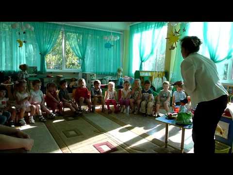 занятие знакомство с профессиеи учитель