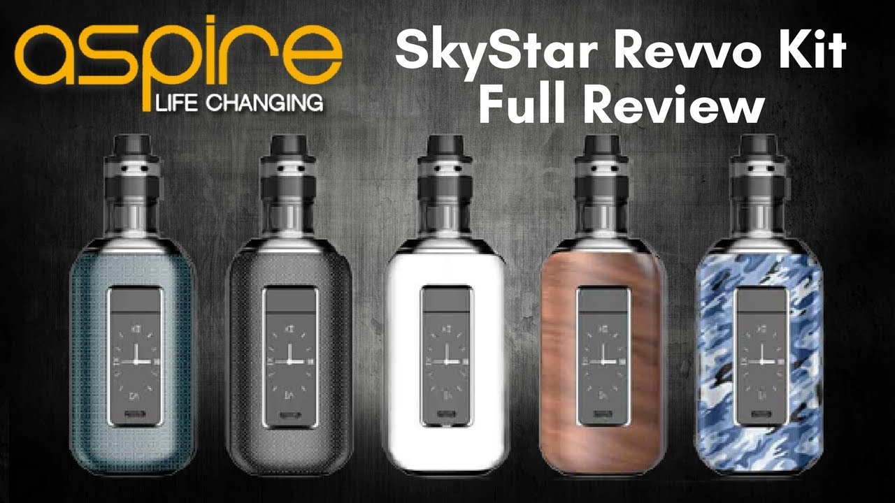 ASPIRE SKYSTAR REVVO KIT REVIEW | 210w | Touch Screen | An Amazing Bit of  Innovation!