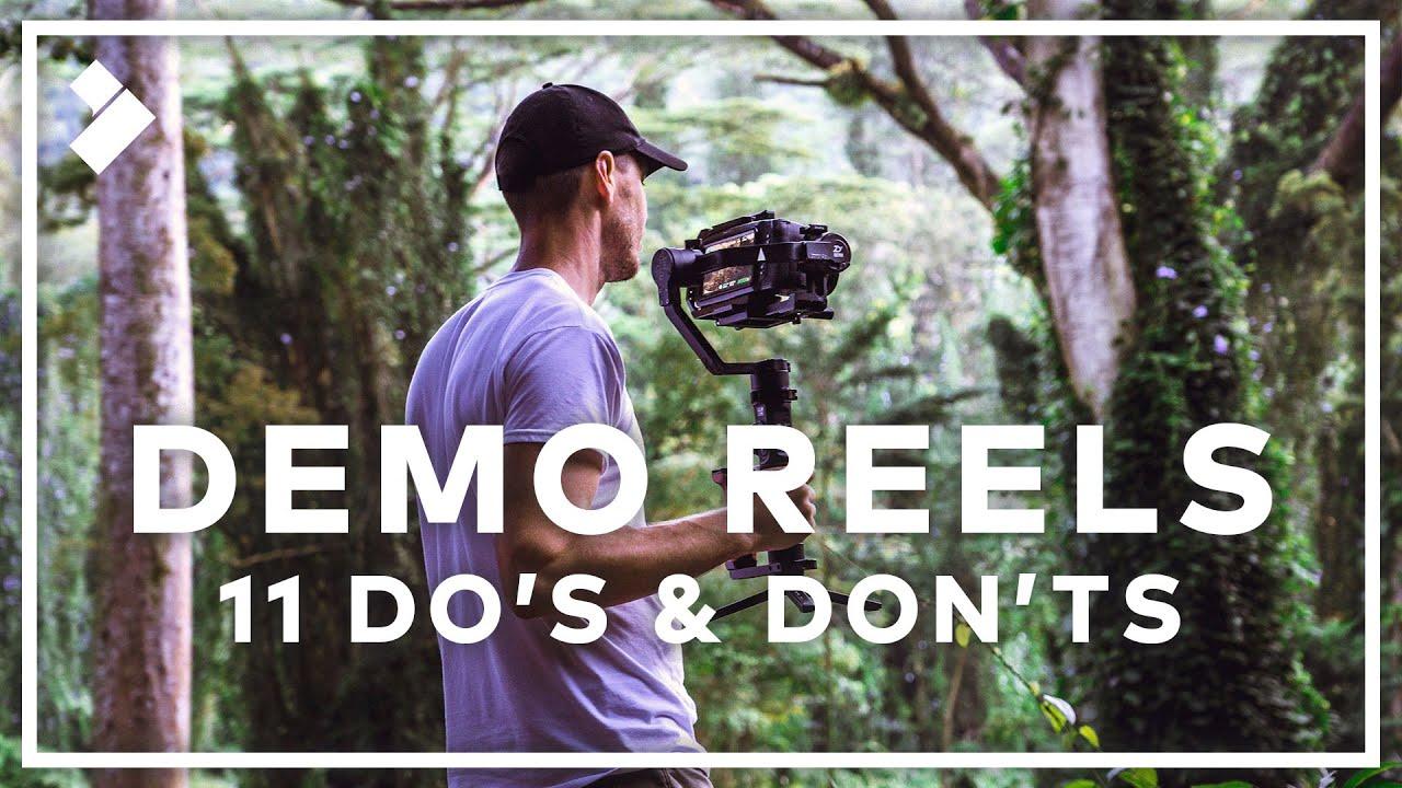 11 Essential Demo Reel Tips!