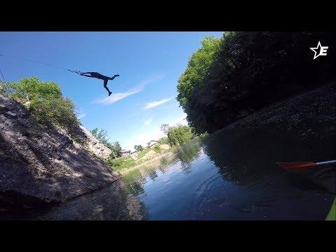 Rope Swing Val de Fier 33 ft - EJPP