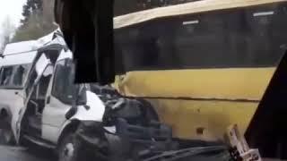 Смотреть видео Авария в Тверской области Россия онлайн