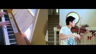 Kingdom Hearts - Passion (violin, piano) - FT. Josh Chiu