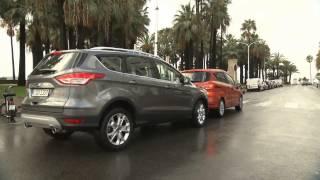 Умный Ford Kuga 2013 - система автоматического торможения(Специальное предложение на новый Ford Kuga от официального дилера Форд Центр Автополе http://www.autopole-f.ru/avtomobili/ford-kuga/, 2013-03-20T12:46:16.000Z)