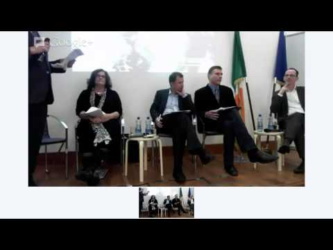 Transparency International launch event, Dublin