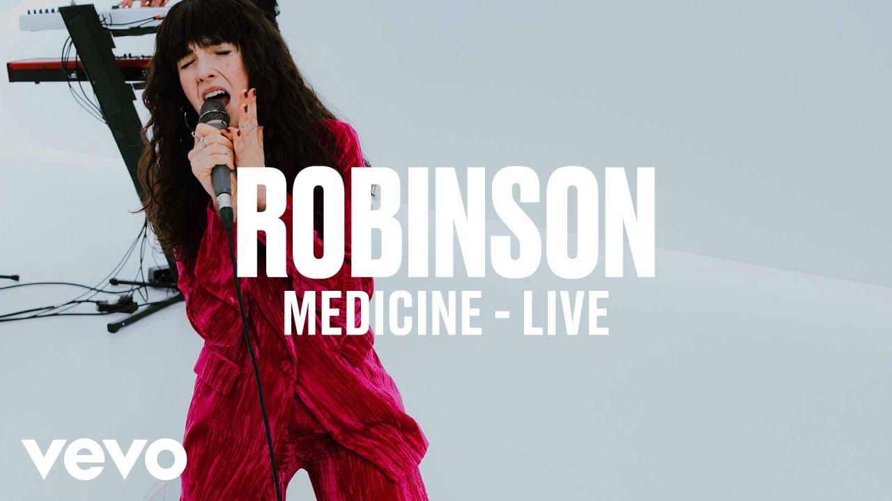 Robinson — Medicine (Live) | Vevo DSCVR ARTISTS TO WATCH 2019