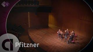Hans Pfitzner: String Quartet no. 3 - Dudok Quartet Amsterdam - Live Classical Music HD